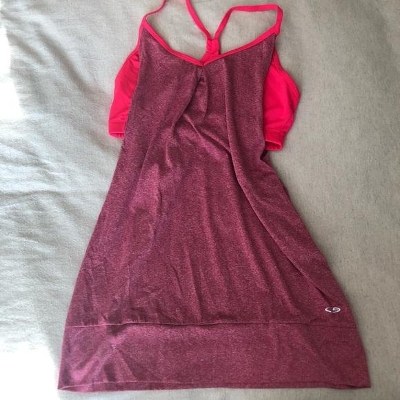 Champion pink workout tank